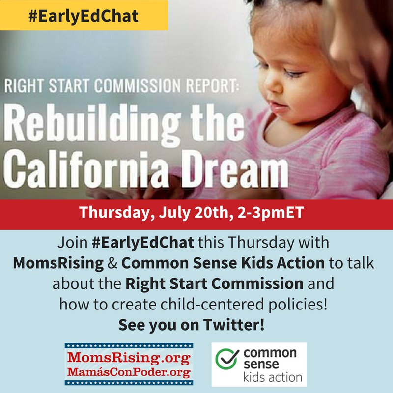 Thumbnail for #EarlyEdChat 7.20.2017 w/ Common Sense Kids Action