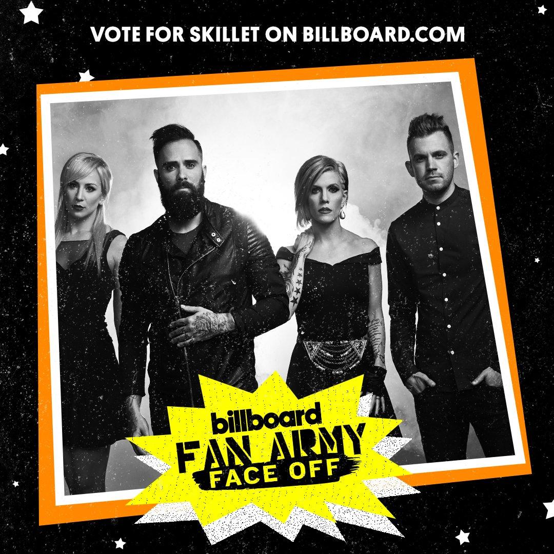 Vote! Skillet's #Panheads v. Ed Sheeran's #Sheerios https://t.co/dUfgf1TyXp #FanArmyFaceOff