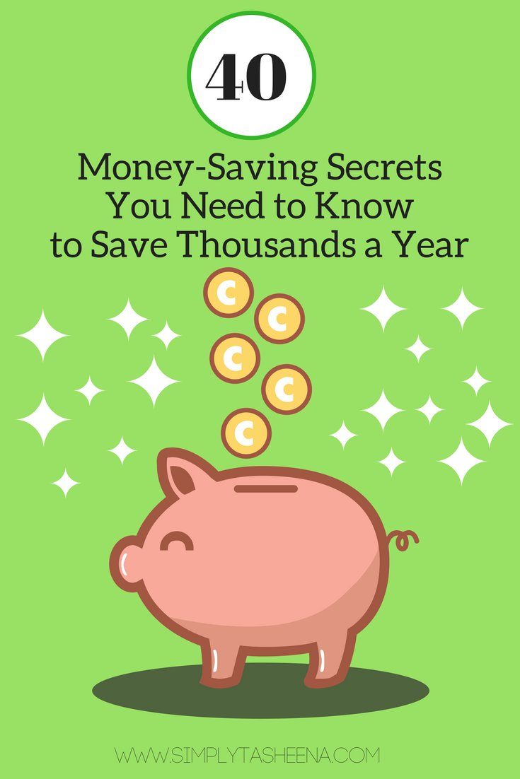 Sharing 40+ of my Money Saving Secrets #ontheblog  http://www. simplytasheena.com/2017/02/40-mon ey-saving-secrets-you-need-to.html &nbsp; …  #frugal #frugalliving #MoneySaving #debtfree #blogging #Tips #blog<br>http://pic.twitter.com/jutOea8xHU