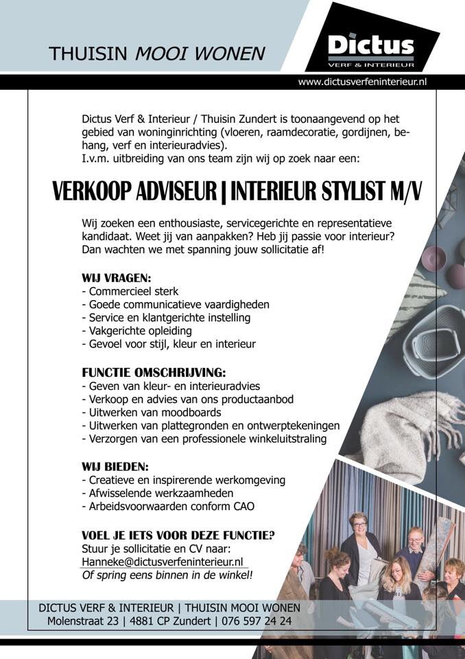 Best Vacatures Interieur Styling Pictures - Trend Ideas 2018 ...