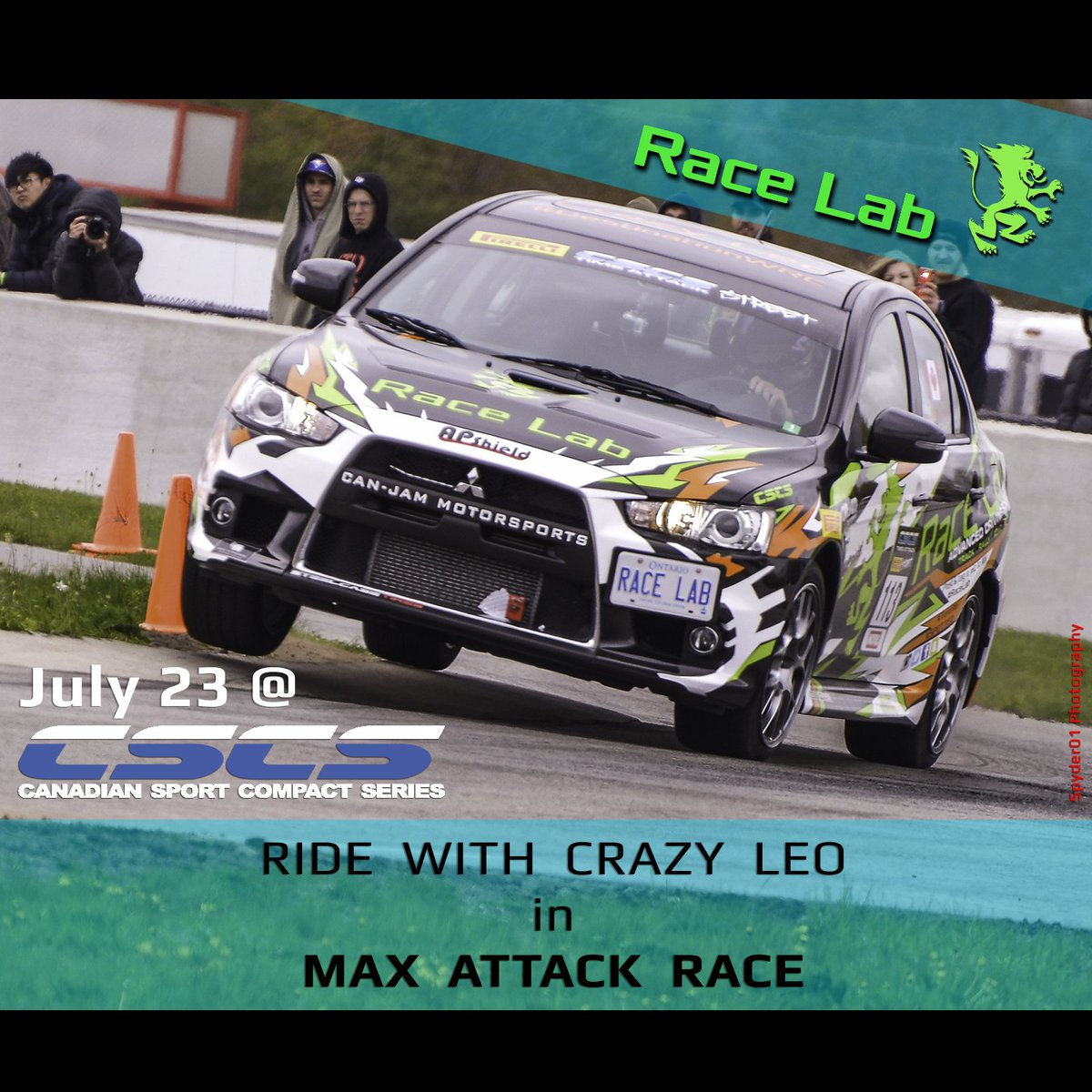 Crazy Leo On Twitter Experience Cscs Race Lab Present A Chance To Win Shotgun Ride With Me During This Sundays Max Door2door Rt