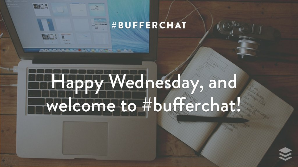 Welcome to #bufferchat with guest @angeliatrinidad! (This is the 2nd of 2 chats this week.) Anyone joining in the chat for the first time? <br>http://pic.twitter.com/YmreohvMwN