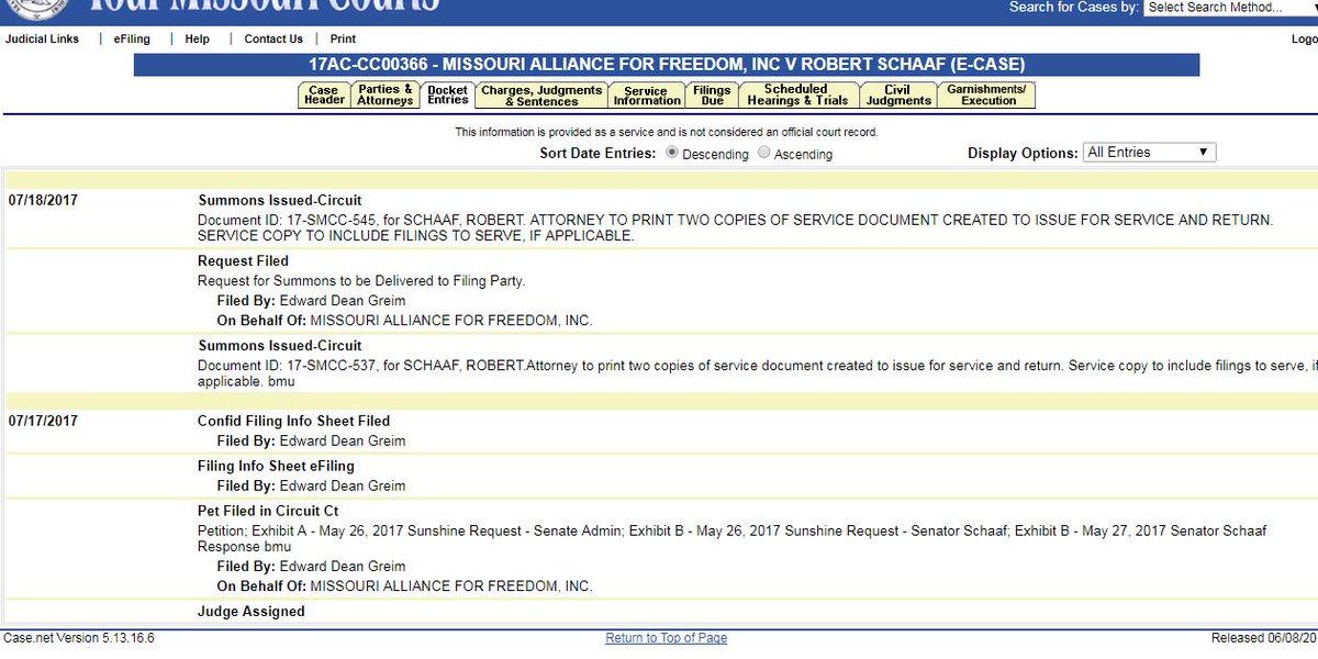 Irony: dark-money gop nonprofit is suing gop senator () over