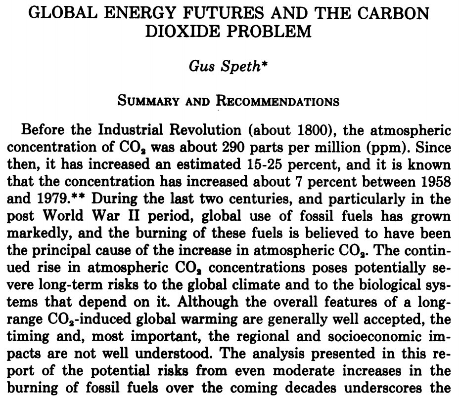 Anyone who thinks we didn&#39;t really understand global warming in 1981 needs to read this. We knew.   http:// lawdigitalcommons.bc.edu/cgi/viewconten t.cgi?article=1734&amp;context=ealr &nbsp; …  #exxonknew <br>http://pic.twitter.com/BBt1HwywHX