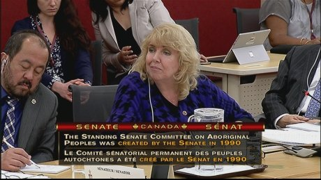 Senator Lynn Beyak meets with Sioux Lookout reconciliation committee h...