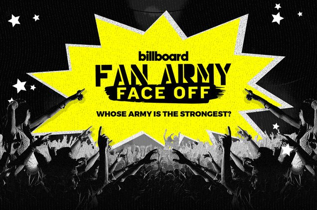 It's that time of the year, again! Which army is the strongest? 🏆#FanArmyFaceOff https://t.co/FpPewImETV
