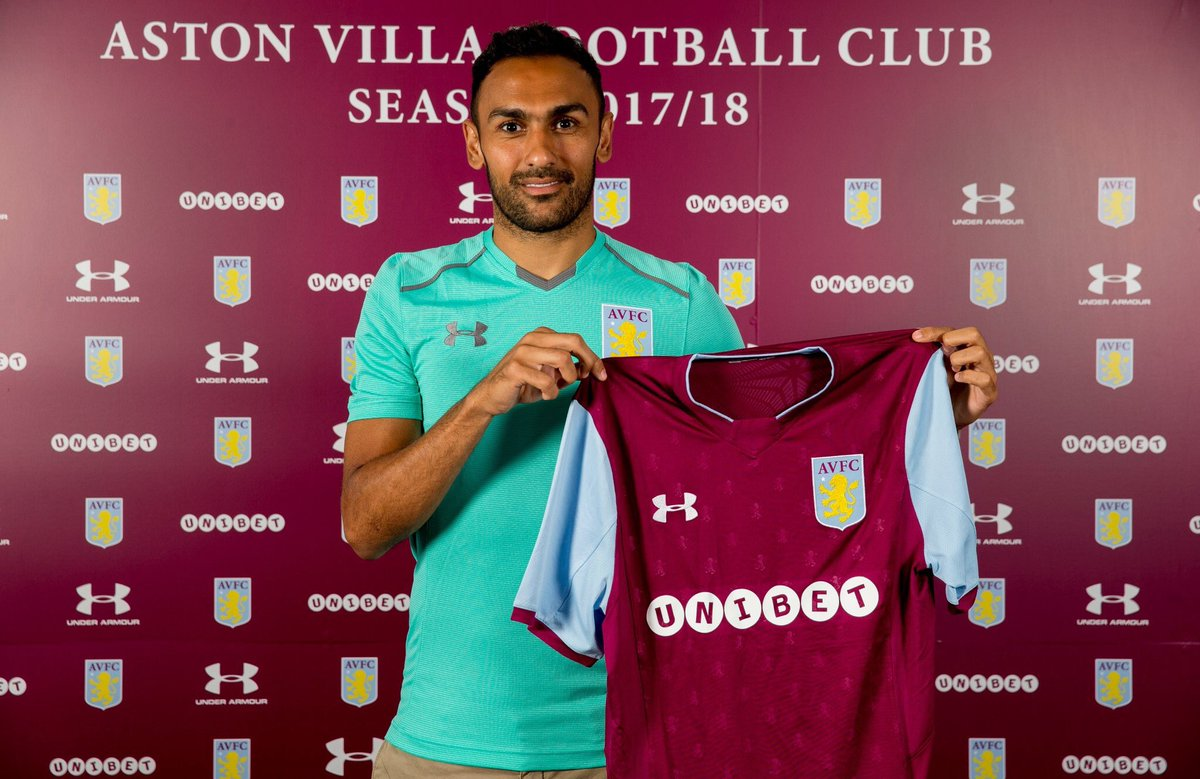 Delighted to have signed for @AVFCOfficial today and looking forward to the new season #AstonVilla#avfc https://t.co/JUXj3lHoJg