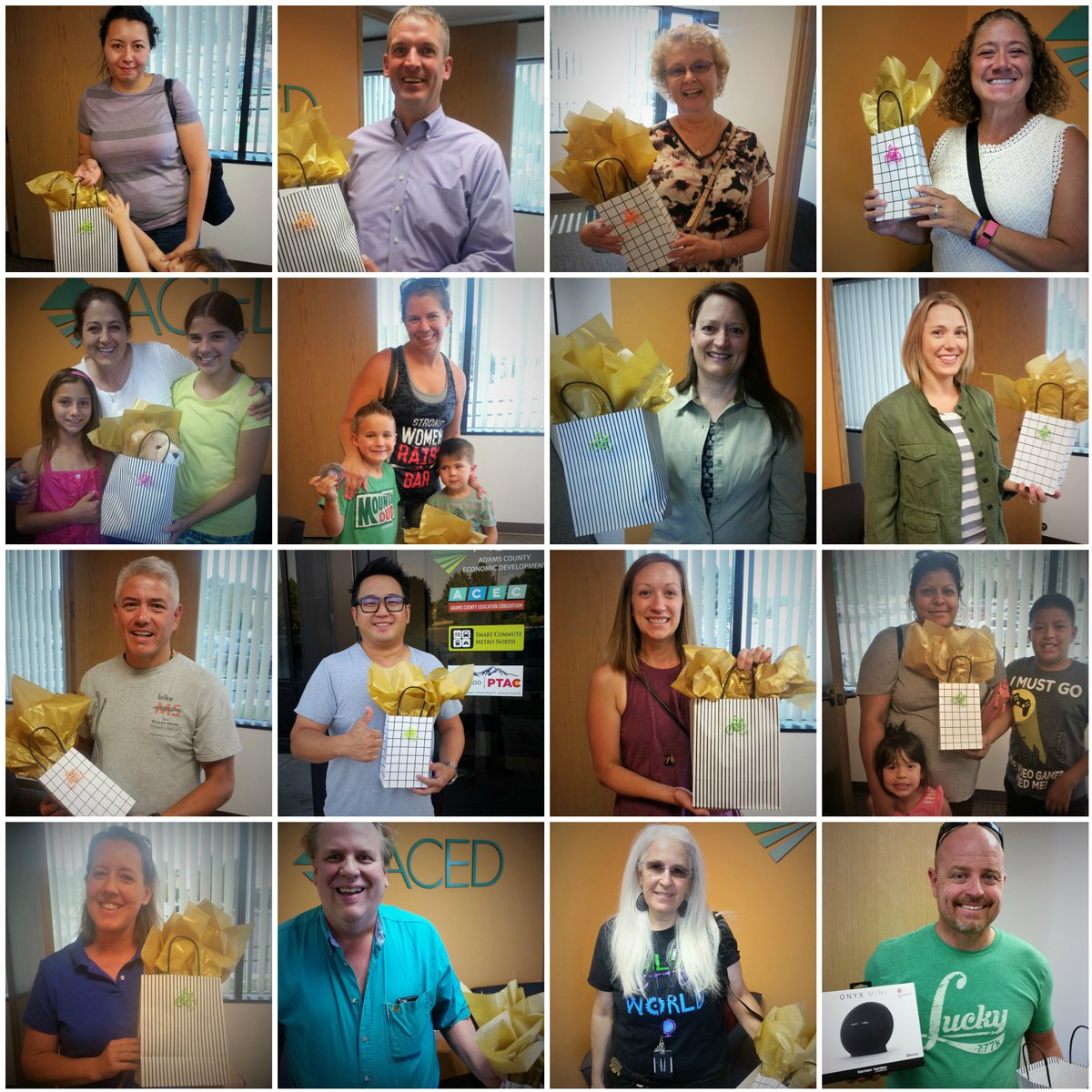 We had a LOT of prize winners after our #BikeToWorkDay party at @OrchardTC - there are some major perks to biking to work :)<br>http://pic.twitter.com/bg5UcJBdYJ