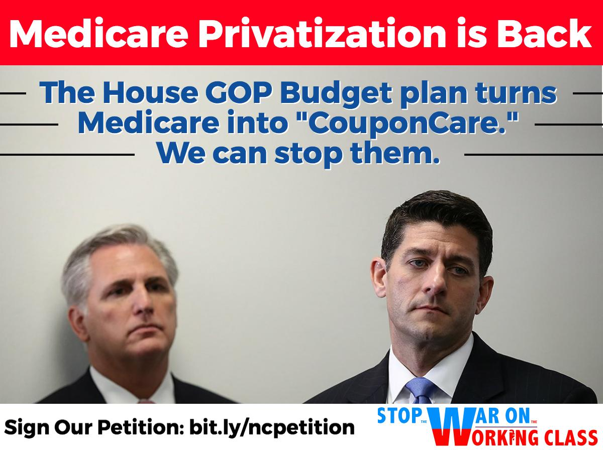 Congress is targeting the health & financial well-being of seniors by attempting to privatize #Medicare. https://t.co/6zAzfaaAaI #GOPBudget https://t.co/3SJBhs5DAx