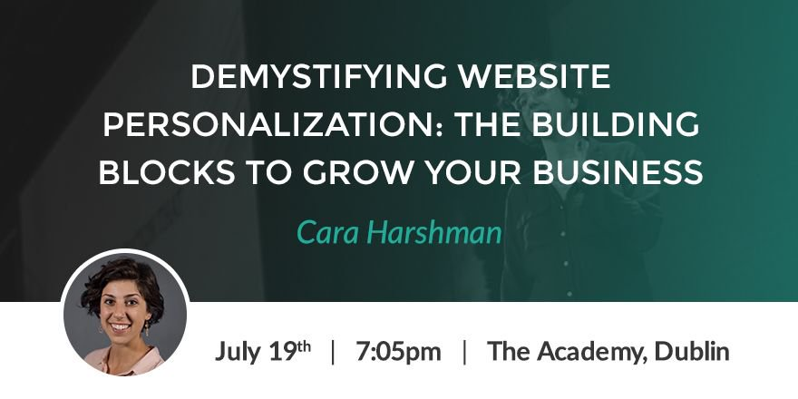 Cara Harshman - Demystifying website personalisation