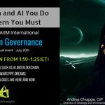 Join @AIIMIntl's #IG free #Virtual Event July 20th! #AI #Blockchain #IM #StarWars @ChiappeAndrea. Register here ➡️➡️ https://t.co/FtTZG7MuIh