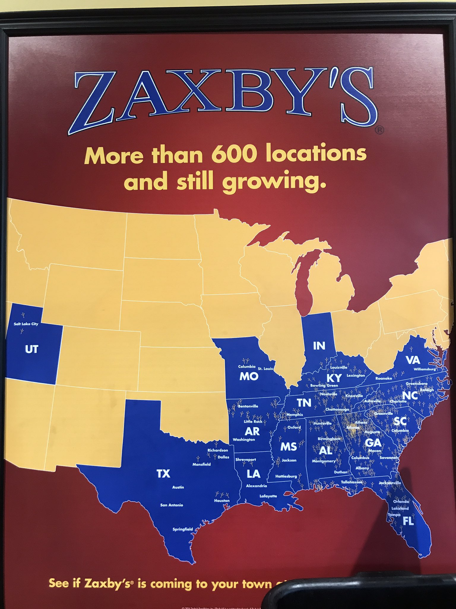 jc groves on twitter hey caferio if zaxbys can go from the  - jc groves on twitter hey caferio if zaxbys can go from the south toutah y'all can go from the west to georgia bringcaferiosouthiamyourbiggestfan