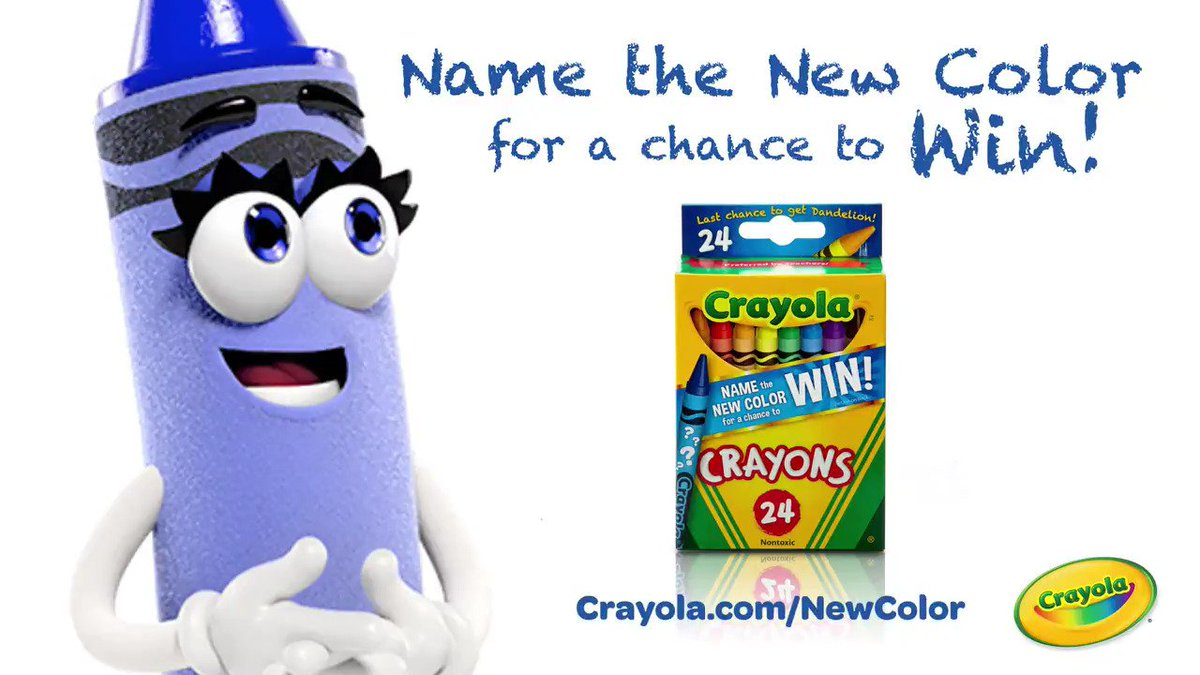 crayola on twitter our top five names are in cast your vote to