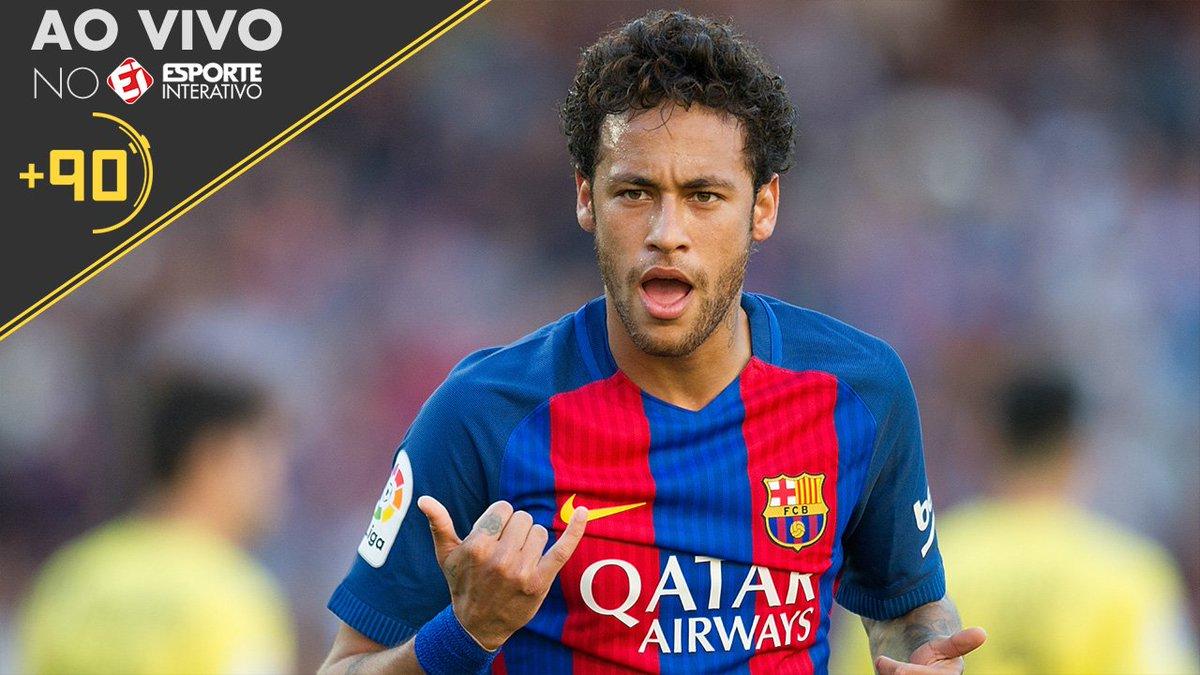 Marcelo Bechler AO VIVO no #Mais90 com as últimas novidades do caso Neymar! Liga no Esporte Interativo!