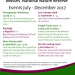 We have some great events coming up at our Fenn's, Whixall & Bettisfield Mosses #NNR nr #Wexham #Wrexhamhour #LIFE25NATURA!