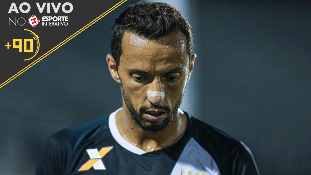 Vasco não terá Nenê no duelo desta noite, contra o São Paulo! Vai fazer falta? Mande sua opinião com #Mais90