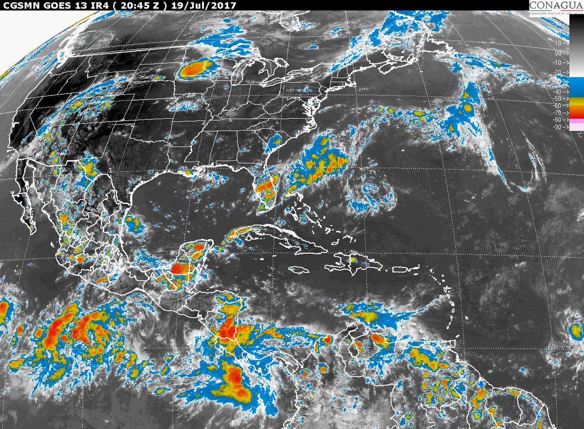 Tormentas torrenciales se pronostican esta noche en zonas de #Oaxaca y...