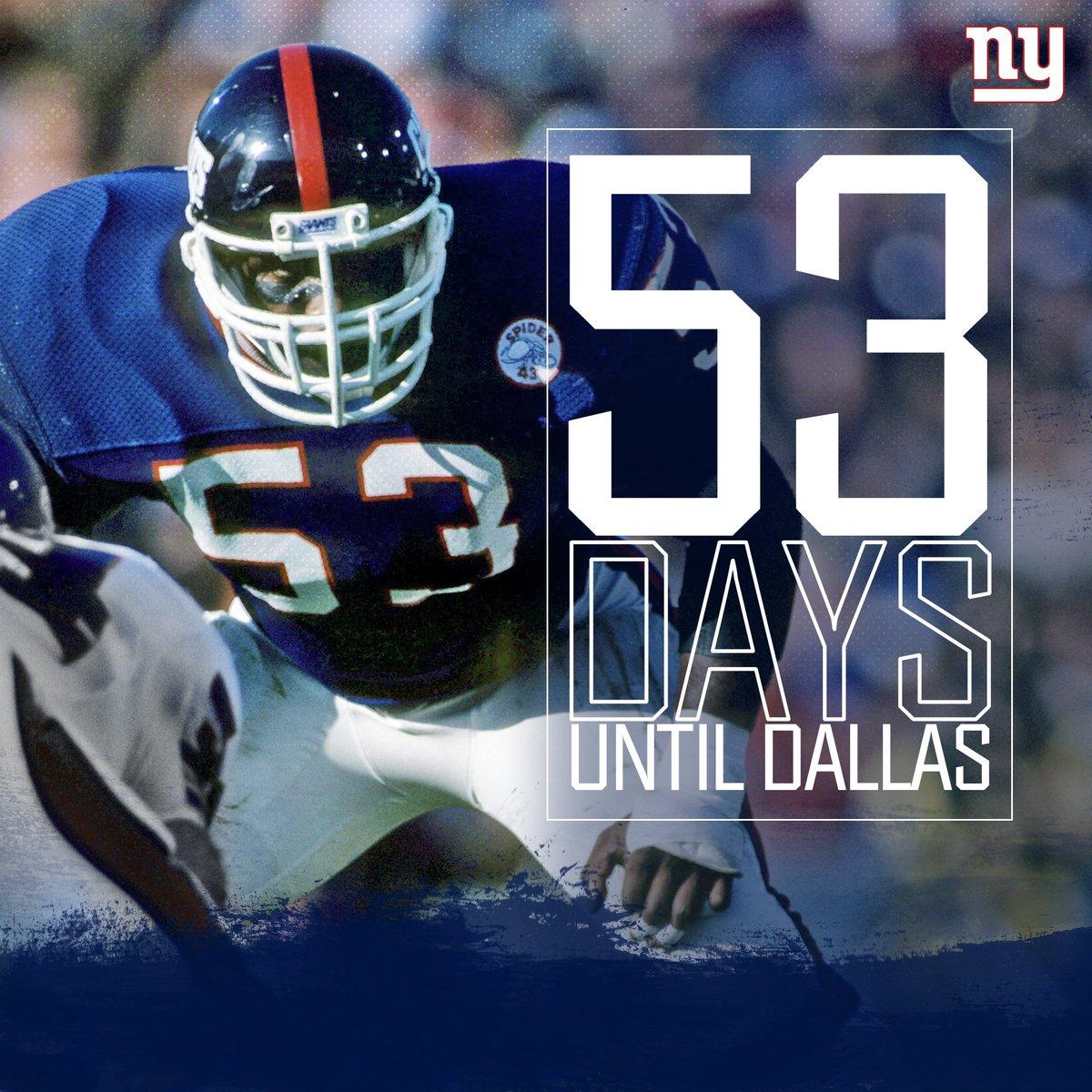 Just 53 Days to Kickoff! #CaptainForLife #GiantsPride <br>http://pic.twitter.com/9TlcTvHLyb