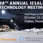 88th IES Aviation Lighting Committee Technology Meeting Oct 22-26, 2017, Hyatt Regency Dallas, Dallas, TX. Info at https://t.co/8SJ4qSXnfP