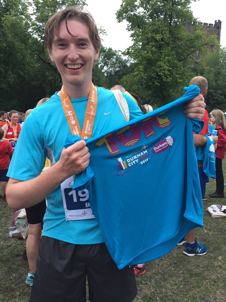 Incredible fun running in @durhamcityrun with a personal best time of 56 min! #10km #thisisdurham<br>http://pic.twitter.com/iaWwoSP1pG