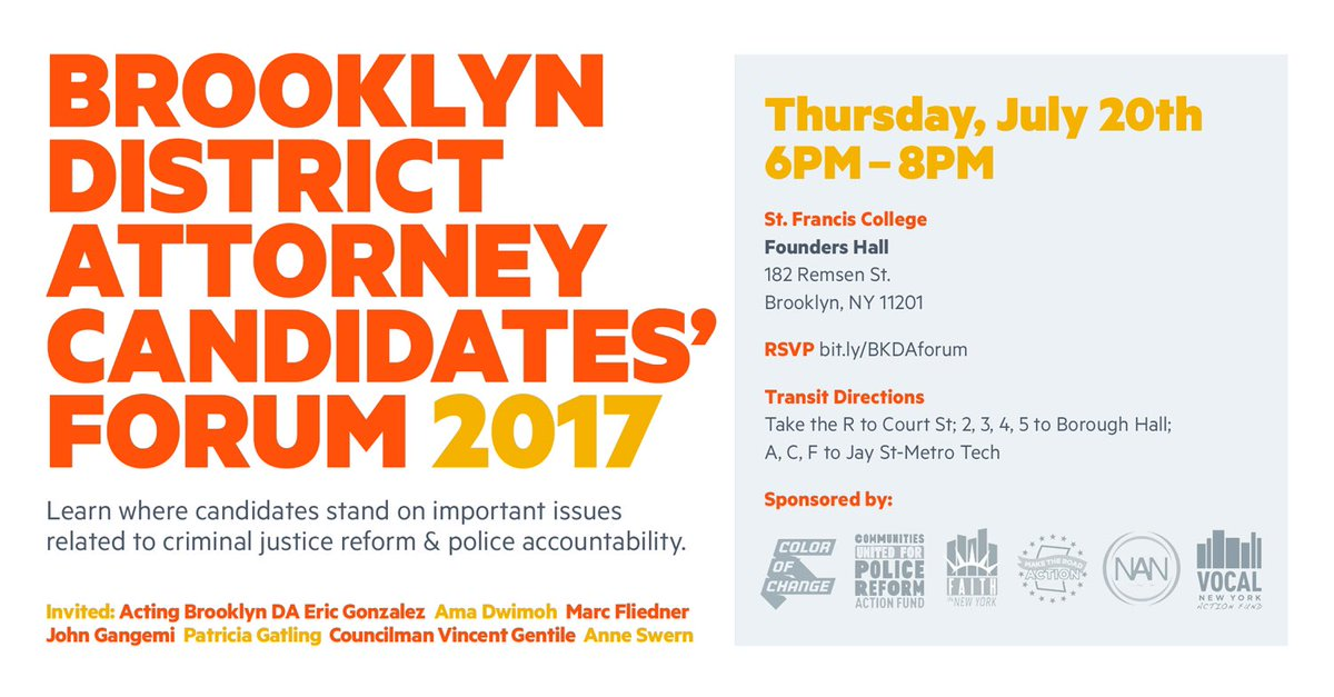 If Trump has taught us one thing, it&#39;s that elections matter. #BROOKLYN, show up and show out:  http:// bit.ly/BKDAforum  &nbsp;   #BKDAforum<br>http://pic.twitter.com/5pDBjH4Ts7