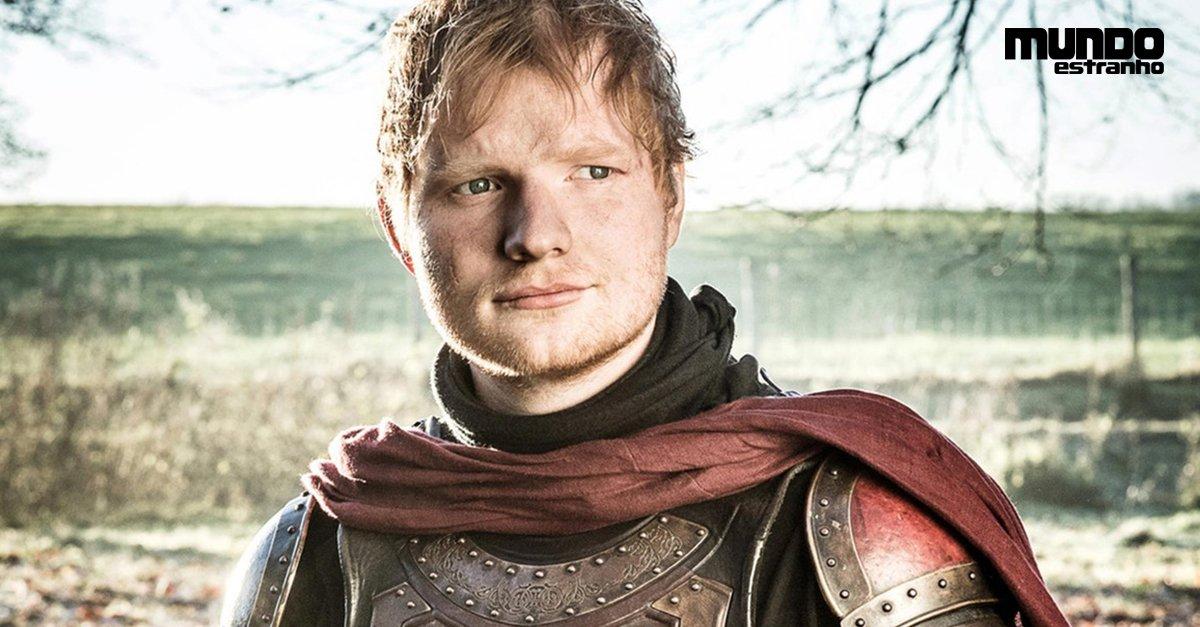 Não, Ed Sheeran em Game of Thrones não foi um erro #BlogMeME https://t.co/Ki93OVxQDG