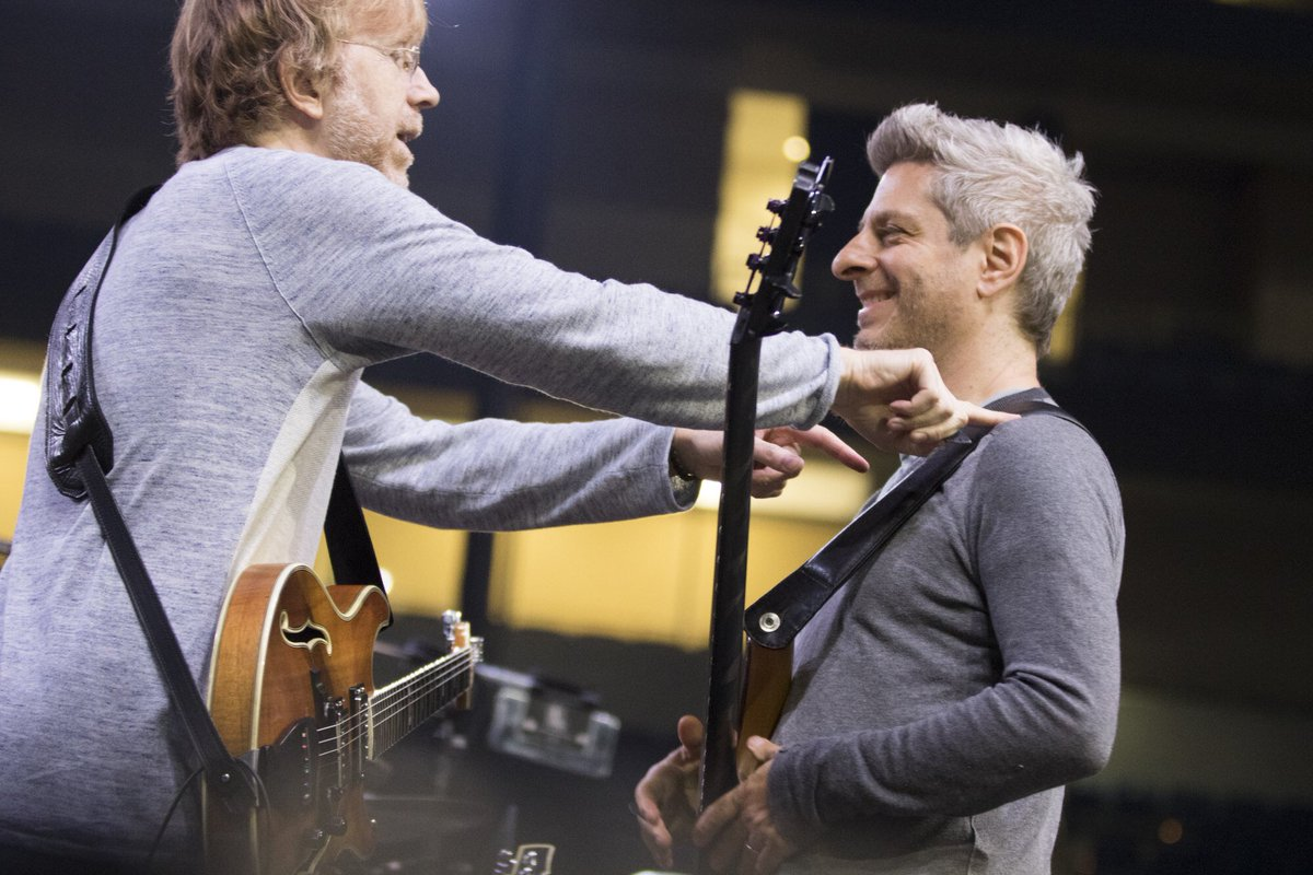 Mike Gordon On Twitter Pittsburgh Soundcheck By Rene Huemer