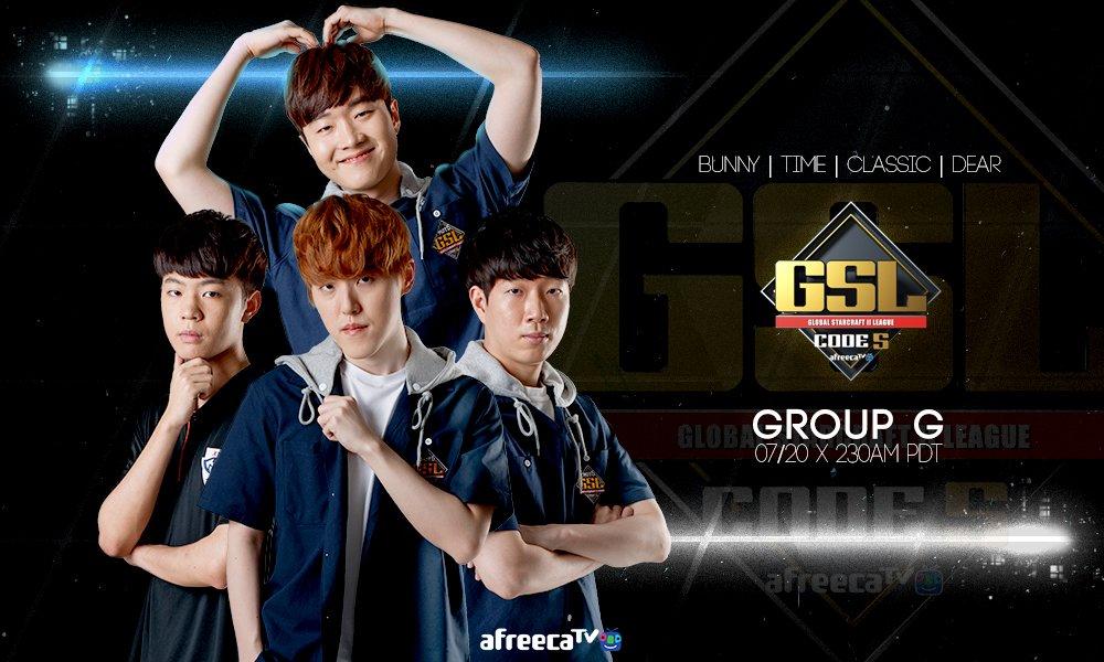 2017 GSL Code S 3. Szezon 1. csoportkör - G csoport