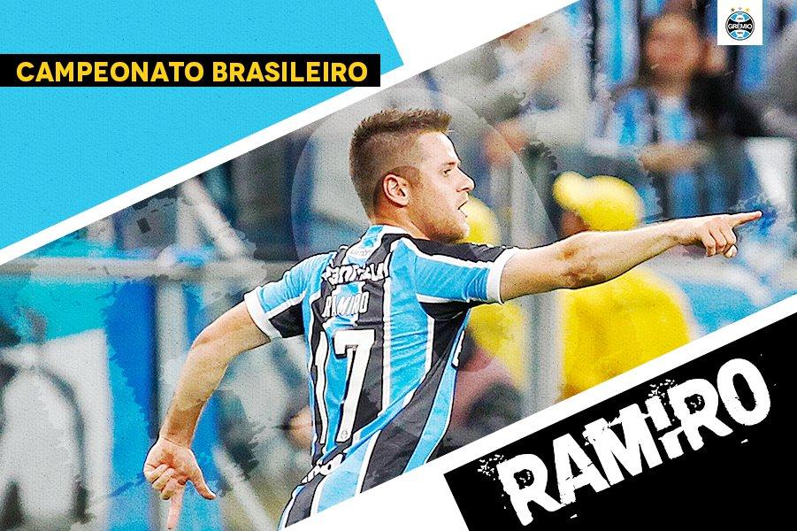 NA GAVETA! Ramiro marca um GOLAÇO e aumenta! Vitória 1x3 Grêmi #VITxGRE #Brasileirão2017 #DiaDeGrêmio #VamosTricoloro