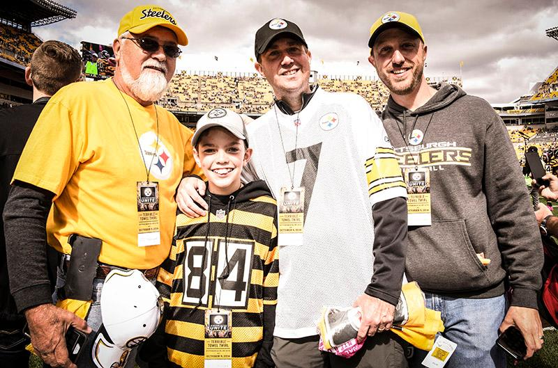Thinking about those Game Day memories... Is it time for football yet?  #HereWeGo #SteelersNation<br>http://pic.twitter.com/N9CVv4RfQf