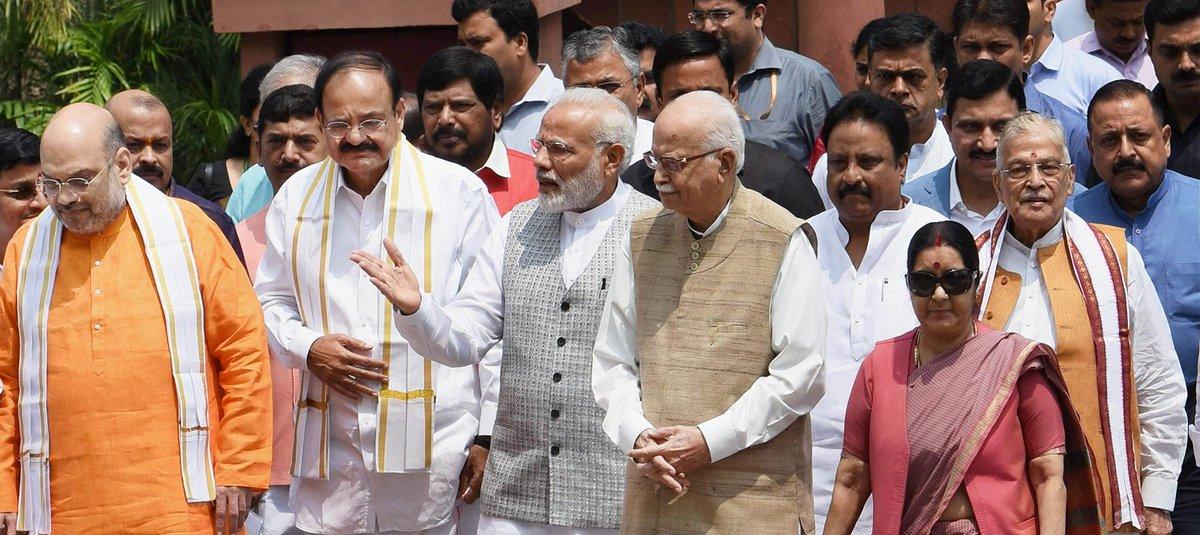 #BJP follows Bhairon Singh Shekhawat tradition by nominating @MVenkaiahNaidu as its vice presidential candidate  https://t.co/wzb9Eksq7o