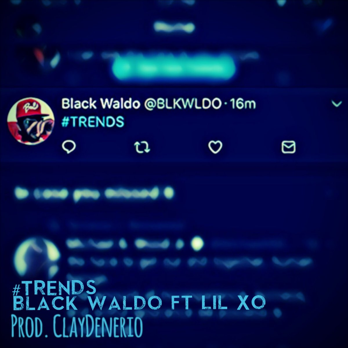 Friday! My first release &quot;#TRENDS&quot; follow my SoundCloud Black Waldo <br>http://pic.twitter.com/9mneOuH7Ld