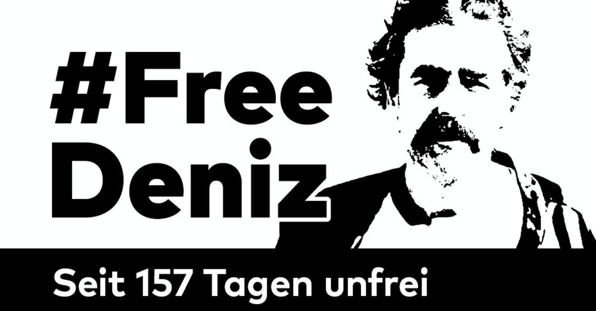Unser Freund und Kollege Deniz Yücel sitzt nun seit 157 Tagen ohne Anklage in türkischer Haft. #FreeDeniz