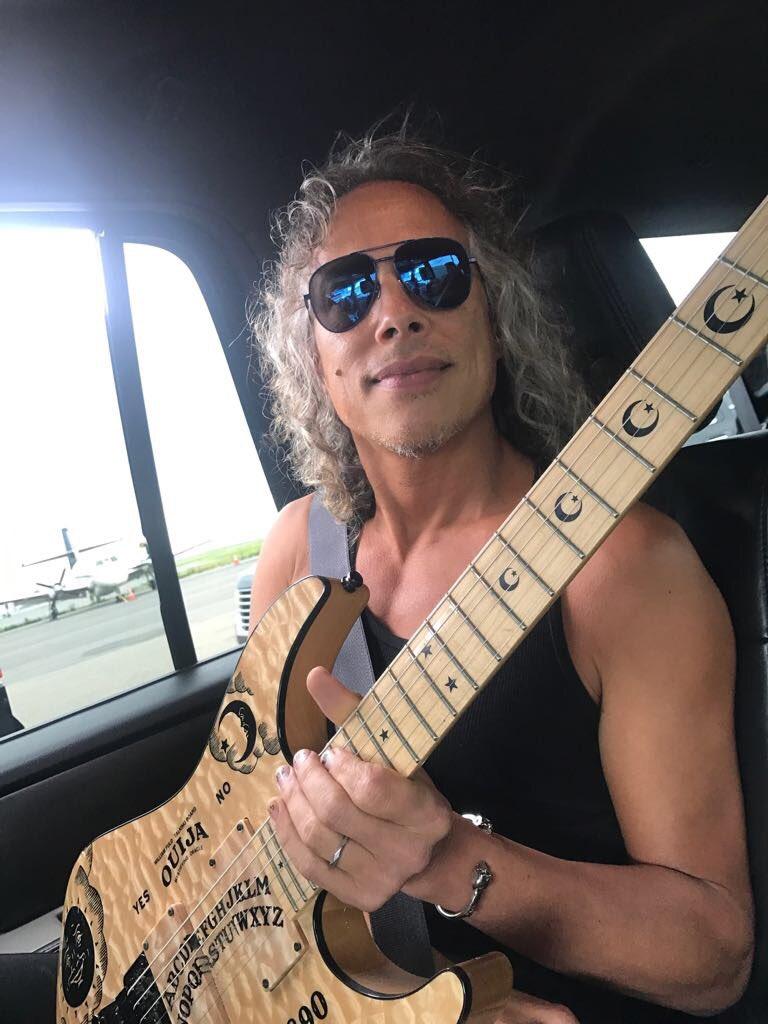 """Kirk Hammett on Twitter: """"Earlier today...en route to a ..."""