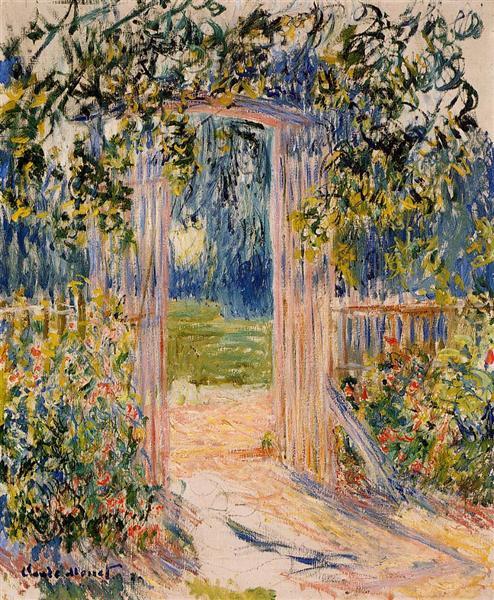 Claude Monet quelques années plus tôt... https://t.co/y6iVW9bBvP