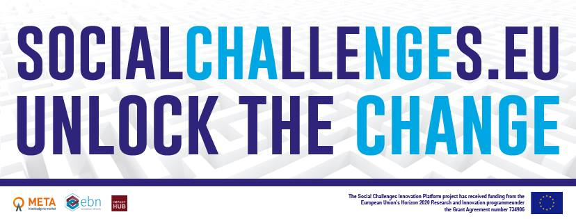 .@sochange_eu matches social challenges to entrepreneurial innovation. Co-funded by #H2020 #INNOSUP  http://www. socialchallenges.eu / &nbsp;   #socinn <br>http://pic.twitter.com/3yujfOqM7U