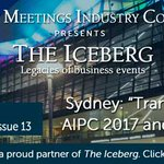 Issue 13 of The Iceberg's Business Events World out now with AIPC 2017 #aipc2017 @AIPC_Global @ICCSyd #eventprofs: https://t.co/mJsnpBpekN …