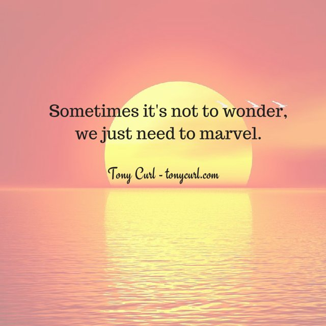 Sometimes just sit back and marvel at the world we live in - Tony Curl @tonycurlcoach #marvel #wonder <br>http://pic.twitter.com/AliENhLrqi