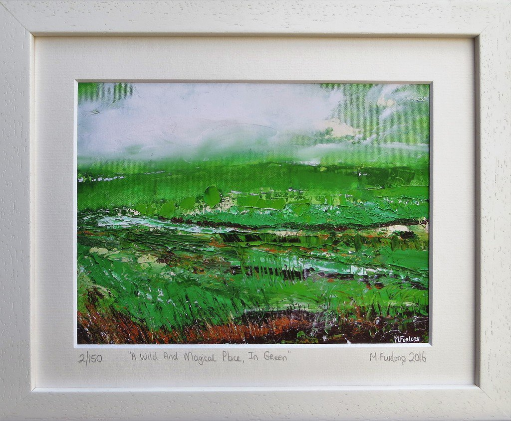 &quot;A Wild And Magical Place In Green&quot; - limited edition giclée print (€25 unframed) Available here  http://www. martinafurlong.com  &nbsp;   #artpainting #con… <br>http://pic.twitter.com/vCFmv8n0xB