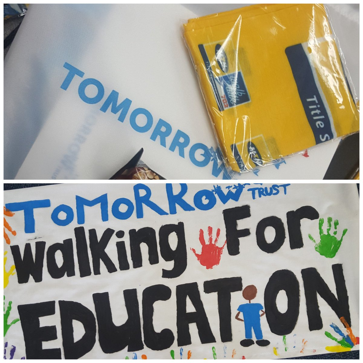 3 more days until we walk for education @Tomorrow_Trust #702walkthetalk  @Walkthetalk_ #Education #TTInspires #8km <br>http://pic.twitter.com/ZkkHOQ211M
