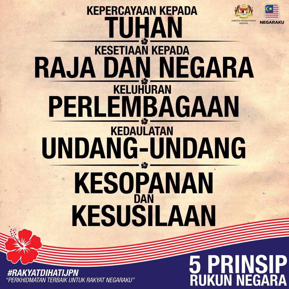 Jpn Malaysia On Twitter Pengurniaan Kewarganegaraan Malaysia Merupakan Anugerah Tertinggi Dan Hak Mutlak Kerajaan Persekutuan Hayatilah 5 Prinsip Rukun Negara Https T Co Dhno63oth6