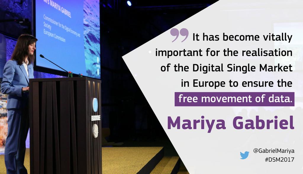 &quot;Through an advanced use of data, we can address societal challenges&quot; @GabrielMariya  http:// bit.ly/2uEETKu  &nbsp;   #dataeconomy #socinn <br>http://pic.twitter.com/cLoRstl1VD