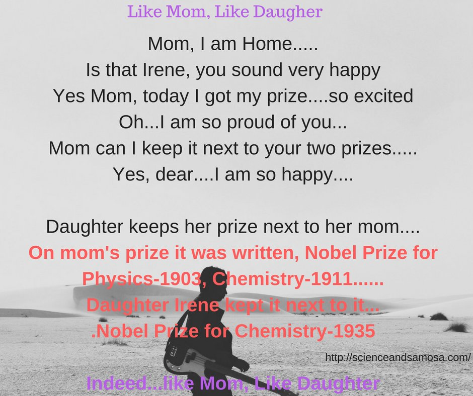 #Tiniature #tinystories #microstories #tinytales #amwriting #BeingAuthor @gayatri_gadre #sciencestory Like Mom....Like Daughter....🙂 https://t.co/gyU5IbftvE