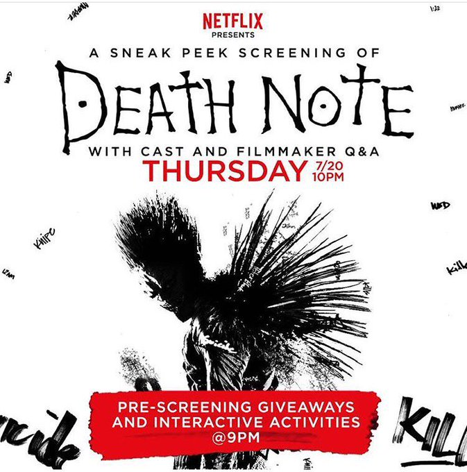 I really wanna see the new @netflix #DEATHNOTE ☠️🖤 https://t.co/yYKGE524v9