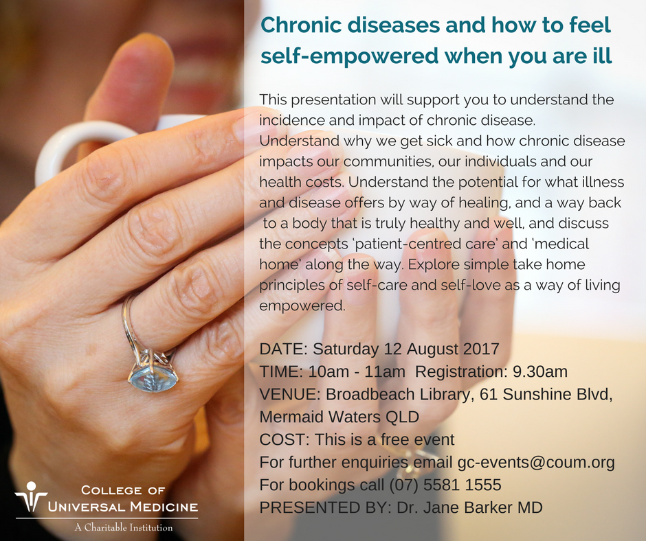 Is it possible to feel well whilst living with chronic #illness? #CoUM #presentation #chronicdisease #wellness #GCCC #active&amp;healthy<br>http://pic.twitter.com/RdreaTTr9r