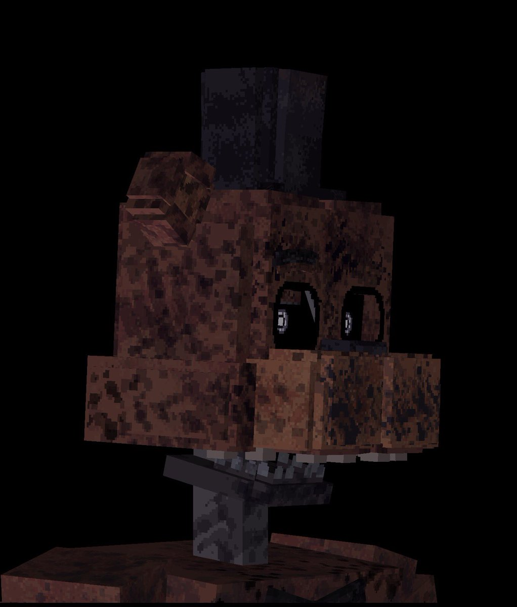 "FNaF Universe Mod On Twitter: ""New IGNITED Freddy Texture"