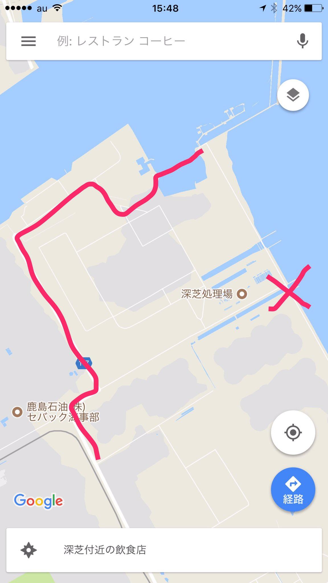 鹿島釣り日記 場所