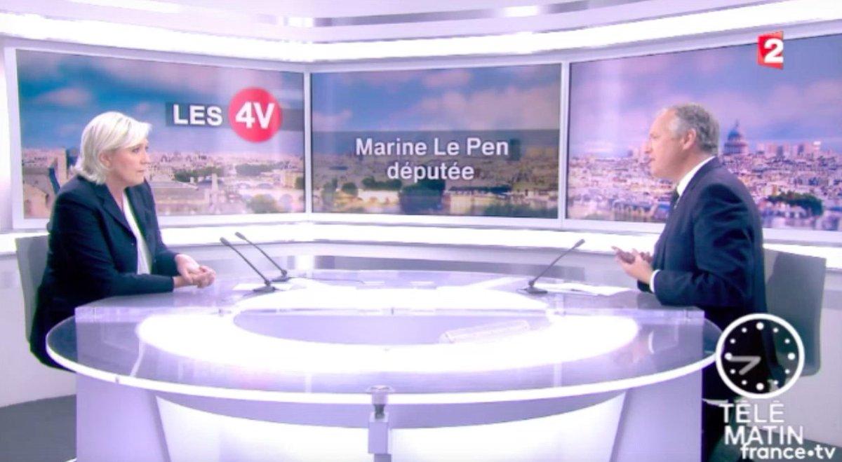 J'étais ce matin l'invitée de l'émission #Les4V sur @france2tv :