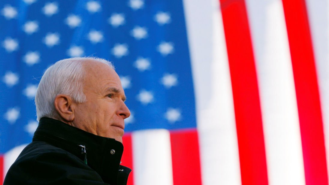 John McCain has fought many battles in his life. But none have been more important than the one he's been waging this year for US democracy.