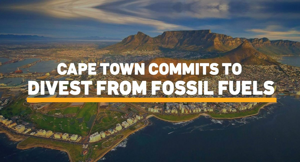 We&#39;d like to celebrate some great news with you! @CityofCT #fossilfree #divest #CapeTown<br>http://pic.twitter.com/oas5KJaCFl